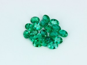 Natural Zambia Oval Cut Emerald