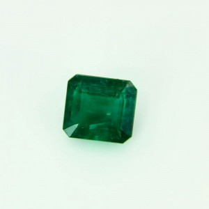 Natural Cushion Cut Emerald