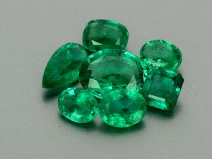 Natural Zambia Mix Cut Emerald